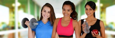 Fitness Class Stock Image