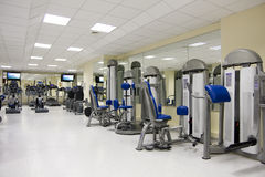 Fitness club Stock Image
