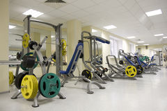 Fitness club Royalty Free Stock Photo