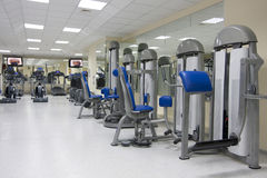 Fitness club Royalty Free Stock Images
