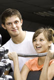 Fitness club Stock Photo
