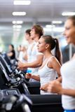 In fitness club Stock Photos