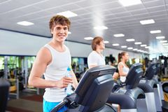In fitness club Royalty Free Stock Photos
