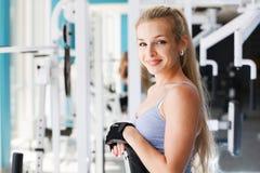 Am Fitness-Club Lizenzfreie Stockbilder