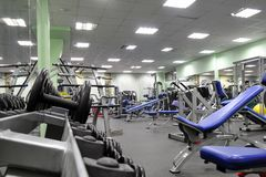 Fitness club Royalty Free Stock Image