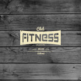 Fitness club badges logos and labels for any use Royalty Free Stock Photo