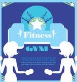 Fitness Club flyer Stock Photo