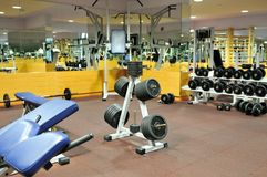 FItness club gym Royalty Free Stock Photo