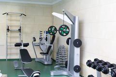 Fitness club gym Stock Photography