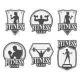 Fitness club icon Royalty Free Stock Images