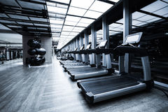 Fitness-Club-Innenraum Stockfoto