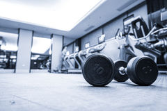 Fitness club interior Stock Images