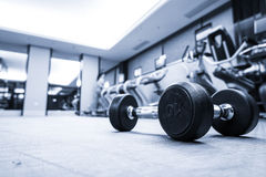 Fitness club interior Stock Photography
