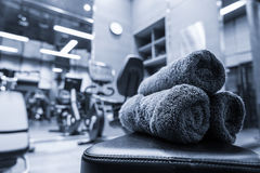 Fitness club interior Royalty Free Stock Image