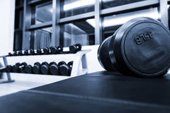 Fitness club interior Royalty Free Stock Images
