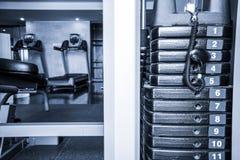Fitness club interior Stock Photos