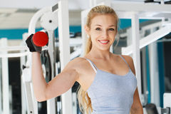 At the fitness club Royalty Free Stock Photography