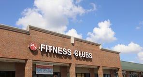 Fitness-Clubs, Horn See, Mississippi Lizenzfreie Stockbilder