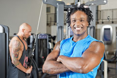 Fitness coach Stock Photography