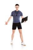Fitness coach Stock Photo