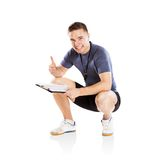 Fitness coach Royalty Free Stock Photos