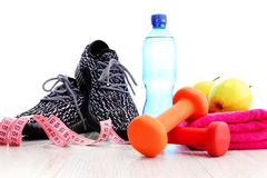 Fitness concept Royalty Free Stock Photography