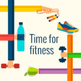 Fitness concept Stock Image