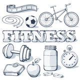 Fitness concept Royalty Free Stock Image