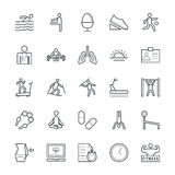 Fitness Cool Vector Icons 4 Stock Photo