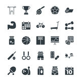 Fitness Cool Vector Icons 2 Stock Image