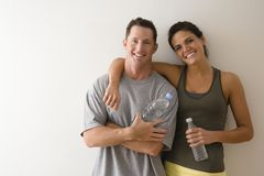 Fitness couple Stock Photos