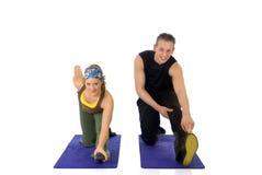 Fitness couple Stock Photo
