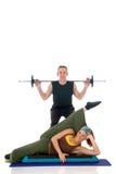 Fitness couple Stock Photos