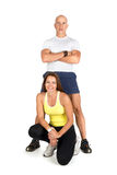 Fitness couple Stock Photo