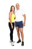 Fitness couple Stock Image