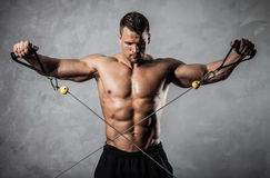 Fitness on crossover Stock Images