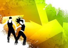 Fitness dance Stock Photos