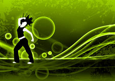 Fitness dance Stock Photo