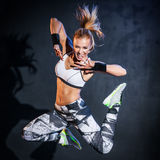 Fitness dancer Stock Photo