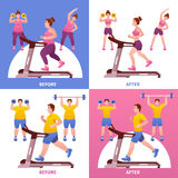 Fitness Design Concept Royalty Free Stock Photography