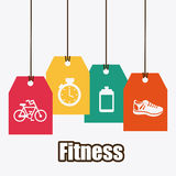Fitness design Royalty Free Stock Photo