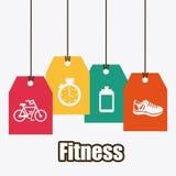 Fitness design Royalty Free Stock Photo
