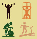 Fitness design Stock Image