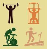 Fitness design Stock Image