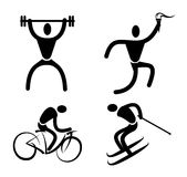 Fitness design Stock Photos