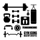 Fitness design Royalty Free Stock Image