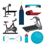 Fitness design. Stock Photography