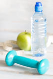 Fitness and diet healthy lifestyle abstract background Royalty Free Stock Images