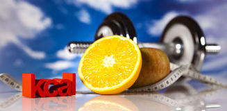Fitness diet Royalty Free Stock Images