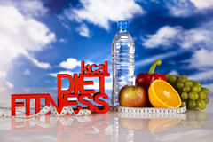 Fitness diet Royalty Free Stock Image